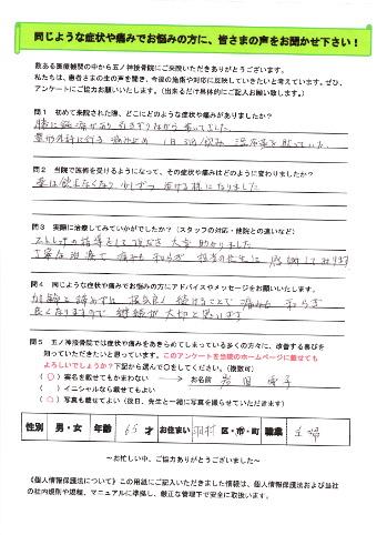 患者様(岩田さん)