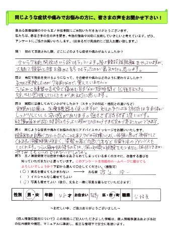渡辺 俊一さん 男性 48歳 お住まい:昭島市 公務員