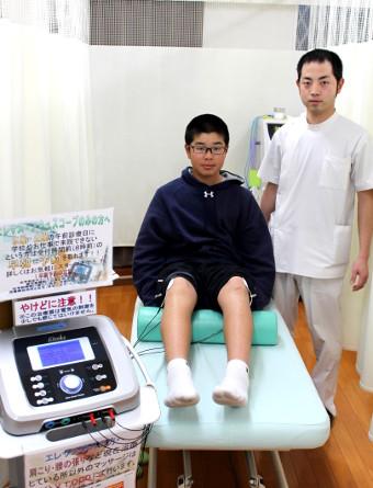 片江 健斗さん 男性 13歳 お住まい:羽村市 学生
